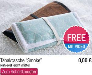 Schnittmuster Tabaktasche Smoke