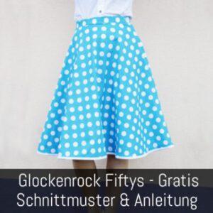 Glockenrock Fiftys Gratis Schnittmuster