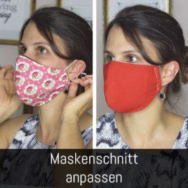 Behelfsmaske Passform
