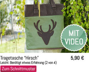Schnittmuster + Nähanleitung Shopper