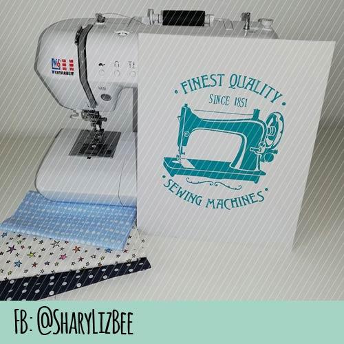 Plotterdatei Nähmaschine seit 1851 von Maker Mauz Sewing auf Platte