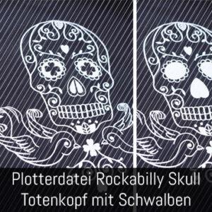 Totenkopf Plottdatei