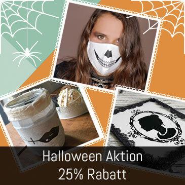 Halloween Sale – 25% Rabatt