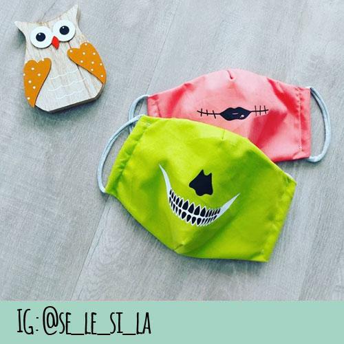 Kinder Halloween Maske