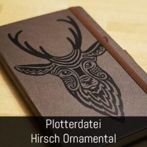 Plottermotiv Hirsch