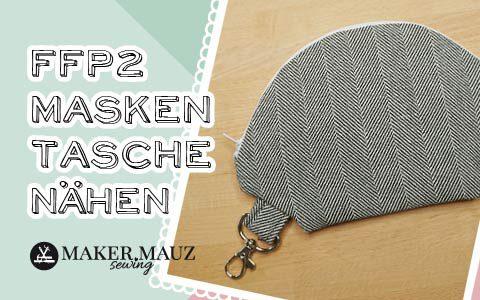 Tasche für FFP2 Maske