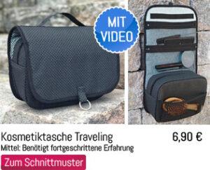 Kosmetiktasche Traveling Schnittmuster
