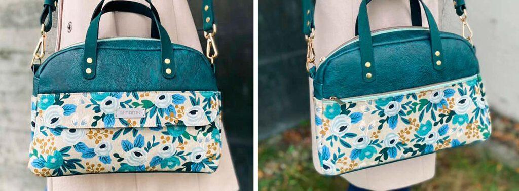 Handtasche Ally ohne Bodenecken